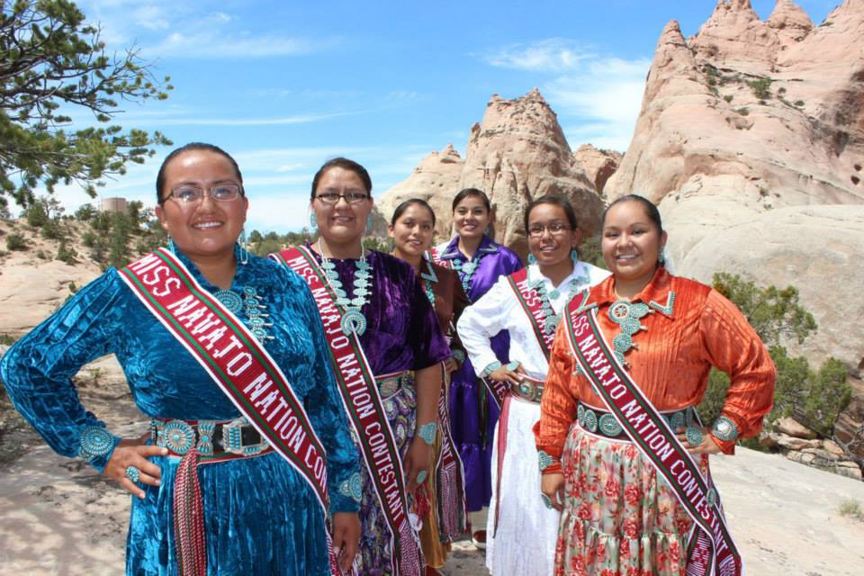 Miss Navajo Nation Contestants