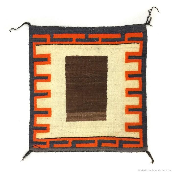 Navajo Single Saddle Blanket c. 1930