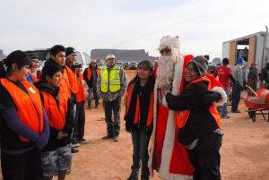 Navajo Santa and Teens