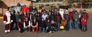 2019 Navajo Santa Delivery Volunteers