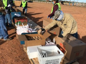 Pandemic supplies for the Navajo Nation