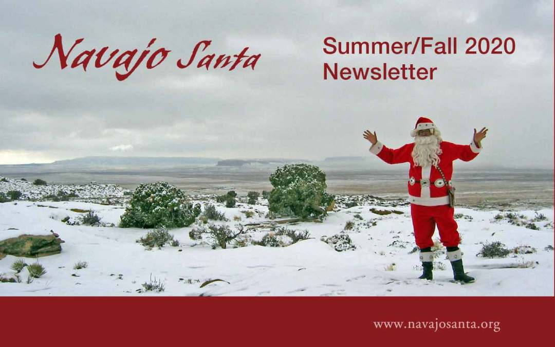 New Navajo Santa Newsletter (Summer/Fall 2020)