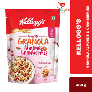 GRANOLA CRUNCHY AND CRANBERRIES 460G