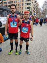 02 C.D. Navalmaratón participó en la eDreams Mitjá Marató de Barcelona