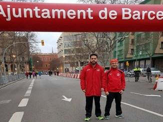C.D. Navalmaratón participó en la eDreams Mitjá Marató de Barcelona