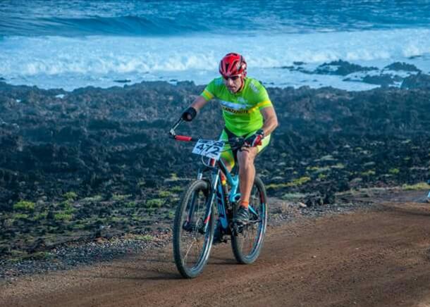 Toni Franco ha disputado la 4 Stage Mountain Bike Race Lanzarote