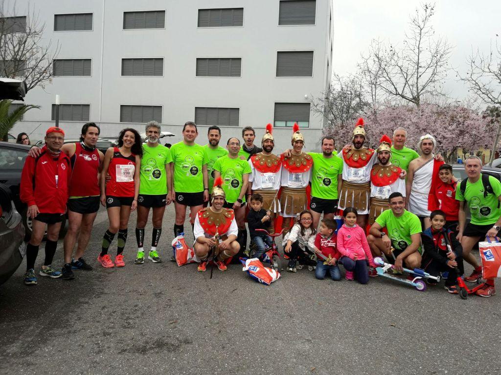 El CD Navalmaratón estuvo en la XI Media Maraón de Mérida y en la II Run&Walk Media Maratón Villa de Illescas