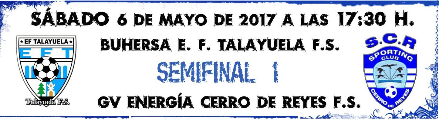 IV Copa de Extremadura de Fútbol Sala en Navalmoral de la Mata - Semifinal 1