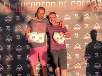 Juan Carlos Alonso Bayal de CD Navalmaratón estuvo en Trail El Guerrero de Gredos