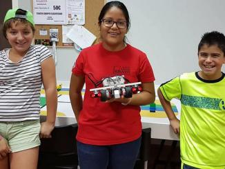 Samira, Carla y Samuel disputarán el Campeonato Nacional de #WRO Robótica Educativa