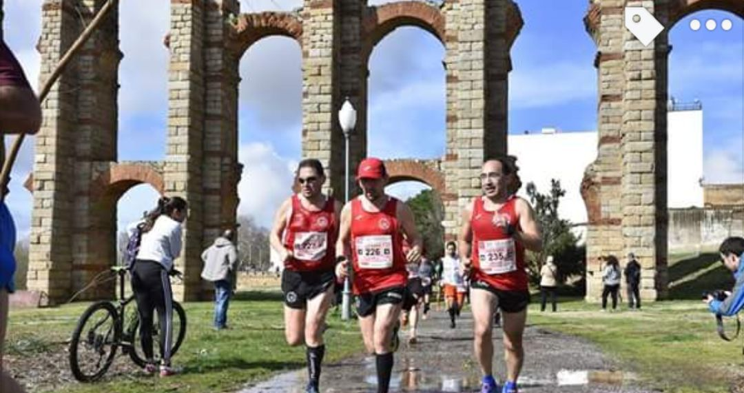 Navalmaratón participó en la XII Media Maratón Mérida Patrimonio de la Humanidad