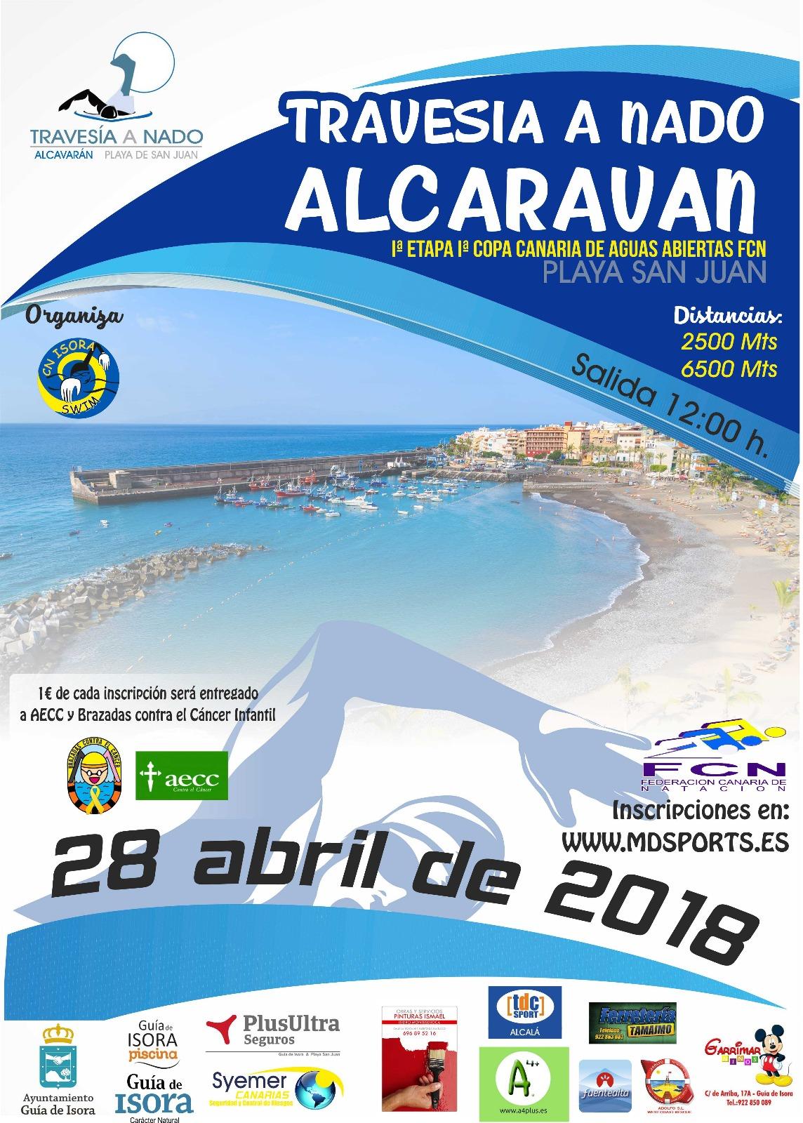 Toni Franco participará mañana sábado 28 de abril en La Travesía a nado Alcaraván, 1ª Copa Canarias de Aguas Abiertas