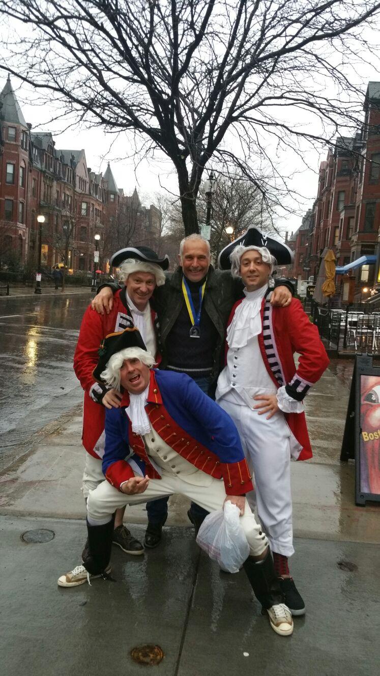 El CD Navalmaratón estuvo en el Maratón de Boston, Medio Maratón de Madrid y Coria