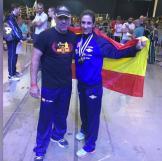 Lourdes León, del club MAE FIGHTING, se proclama campeona del mundo de Kick Boxing y subcampeona de K1 Rules en el mundial ISKA 2018 (1)