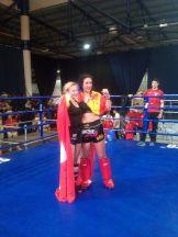 Lourdes León, del club MAE FIGHTING, se proclama campeona del mundo de Kick Boxing y subcampeona de K1 Rules en el mundial ISKA 2018 (2)