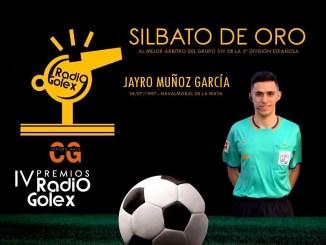 Silbato de Oro y Playoff para Jayro Muñoz
