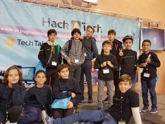 ArcaDroidEx participó en Madrid en la tercera edición de Hackatech, Maratón de Programación y creatividad