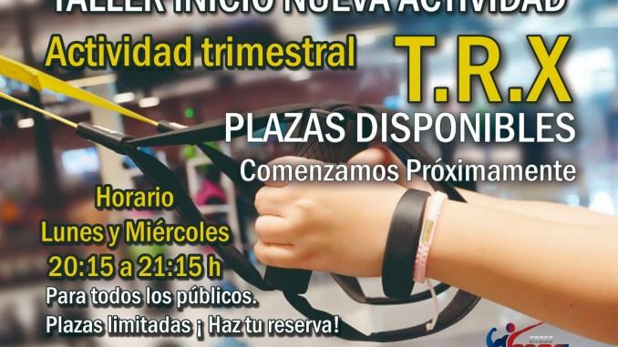 Nueva actividad trimestral en Cross MAE Fitness con el Taller de Trabajo en Suspensión (TRX)