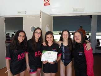 ADA Navalmoral Campeón de Extremadura de salvamento y socorrismo en 4x50 m obstáculos