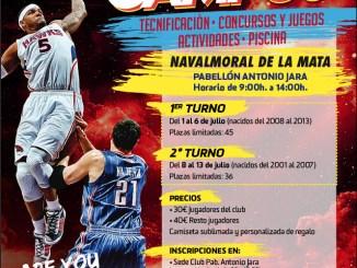 Segunda edición del campus de verano Basket Club Navalmoral