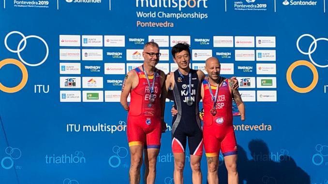 Toni Franco Subcampeón del Mundo de Acuatlón 2019 ITU Pontevedra Multisport World