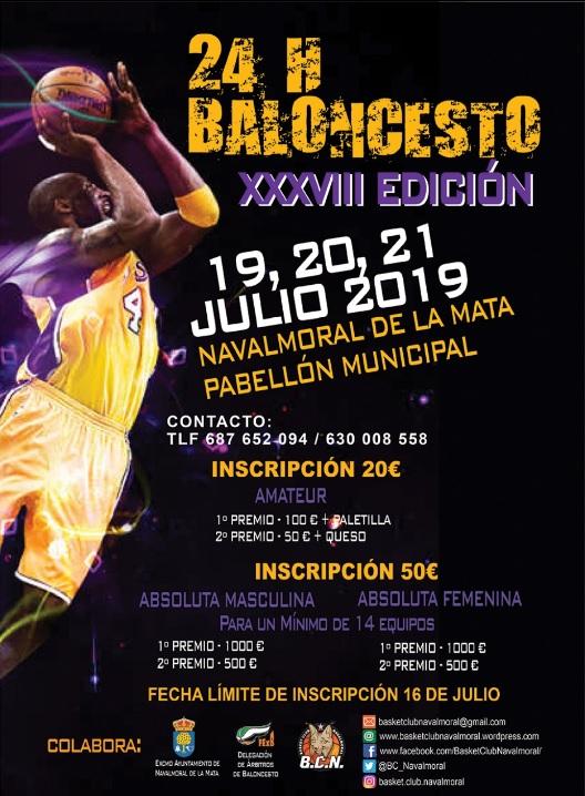 XXXVIII edición de las 24 horas de Baloncesto Navalmoral de la Mata