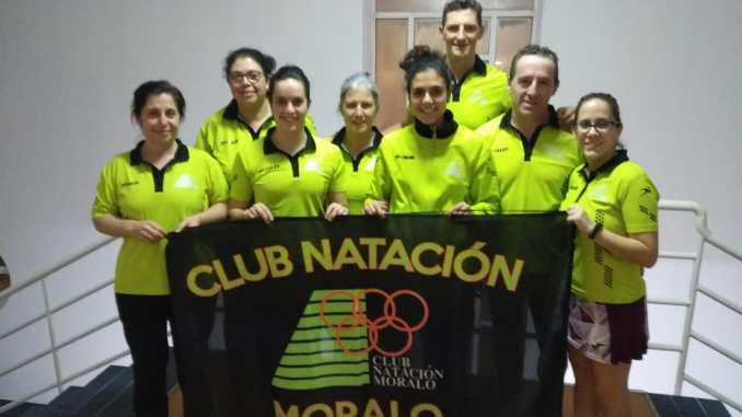 Doble desplazamiento del Club Natación Moralo a Plasencia y Cáceres