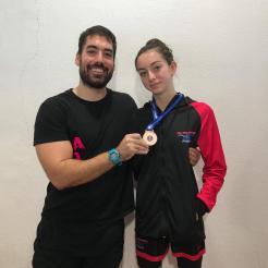 Resumen del Campeonato Extremadura de Laura Ballesteros de ADA Navalmoral (2)