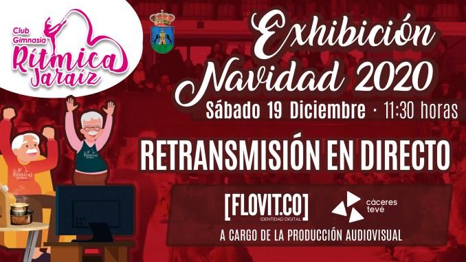 Exhibición Navidad 2020 del Club Gimnasia Rítmica Jaraíz