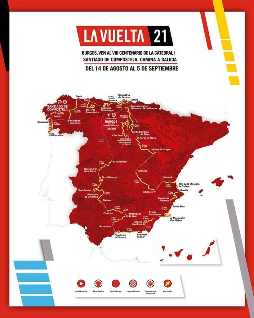 Navalmoral será el punto de partida de la decimoquinta etapa de la Vuelta Ciclista a España