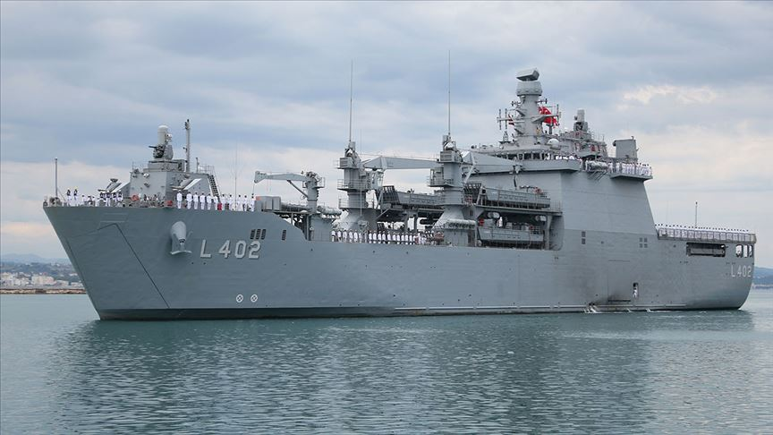 Turkish Amphibious Ship BAYRAKTAR Visit Albania | Naval News
