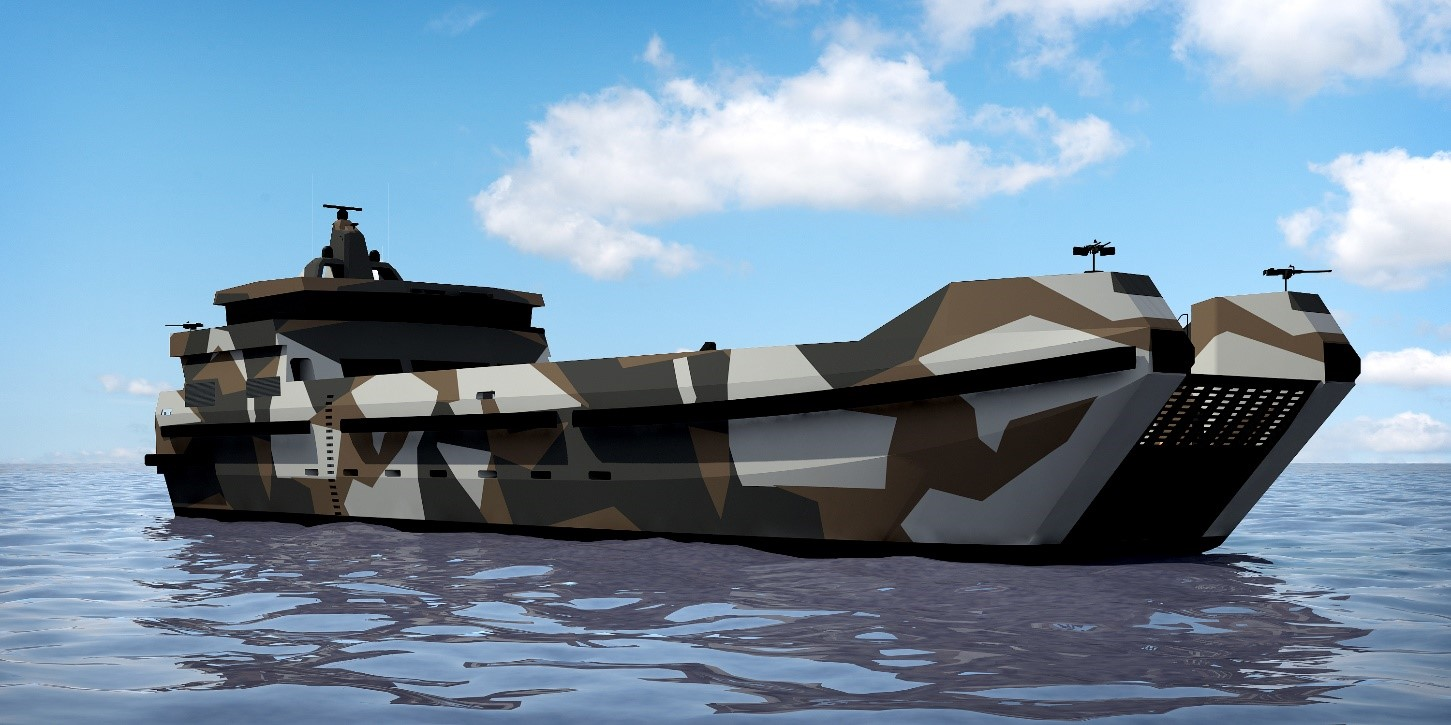 aresa 5000 ld the transporter - naval post- naval news and information