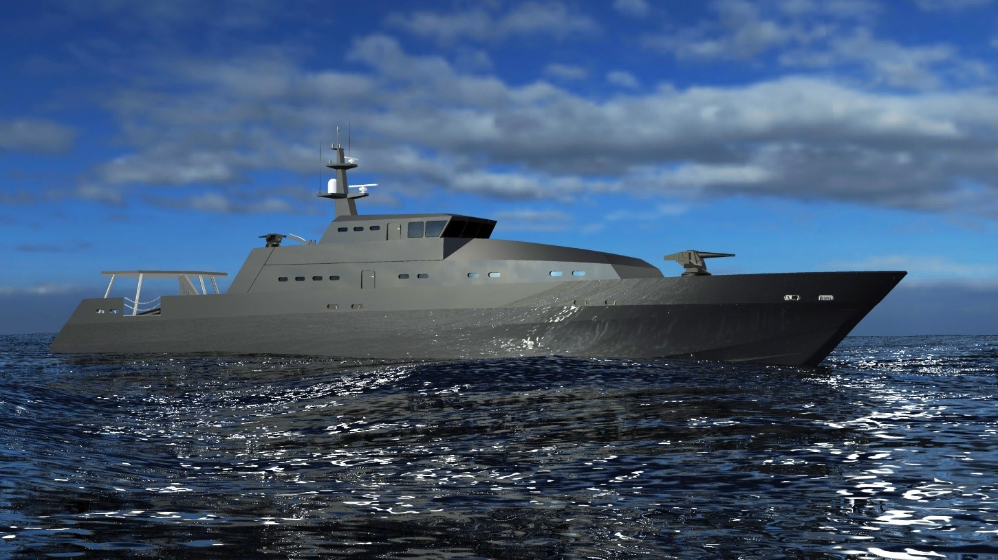 aresa 5000 opv the guardian - naval post- naval news and information
