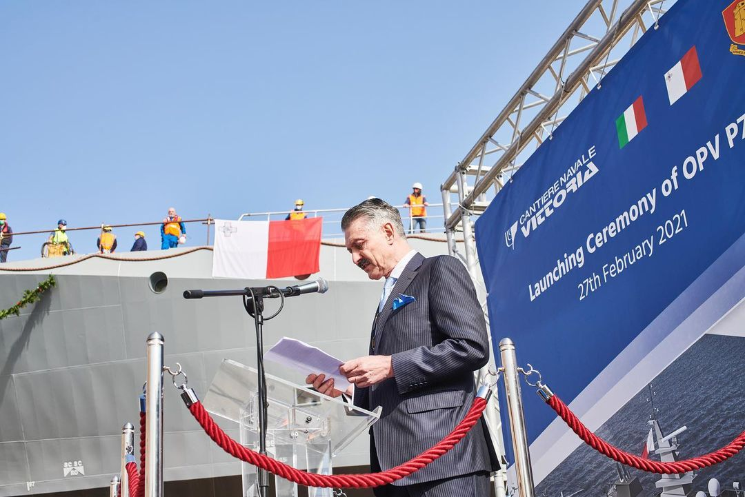 opv 71 launching ceremony - naval post- naval news and information