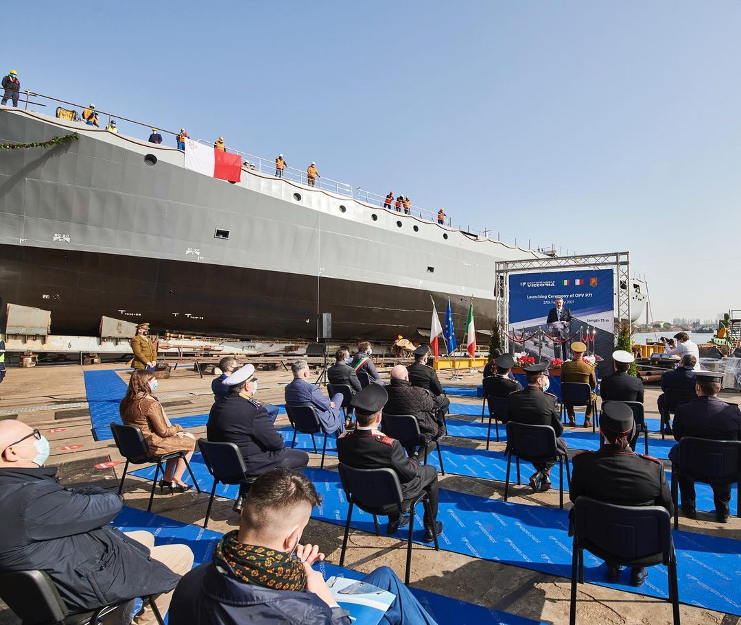 opv 71 launching ceremony2 - naval post- naval news and information