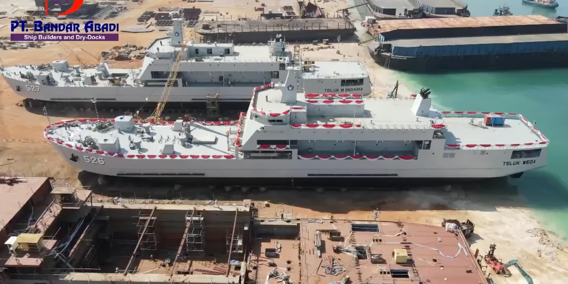Teluk Bintuni Class LST3 - Naval Post