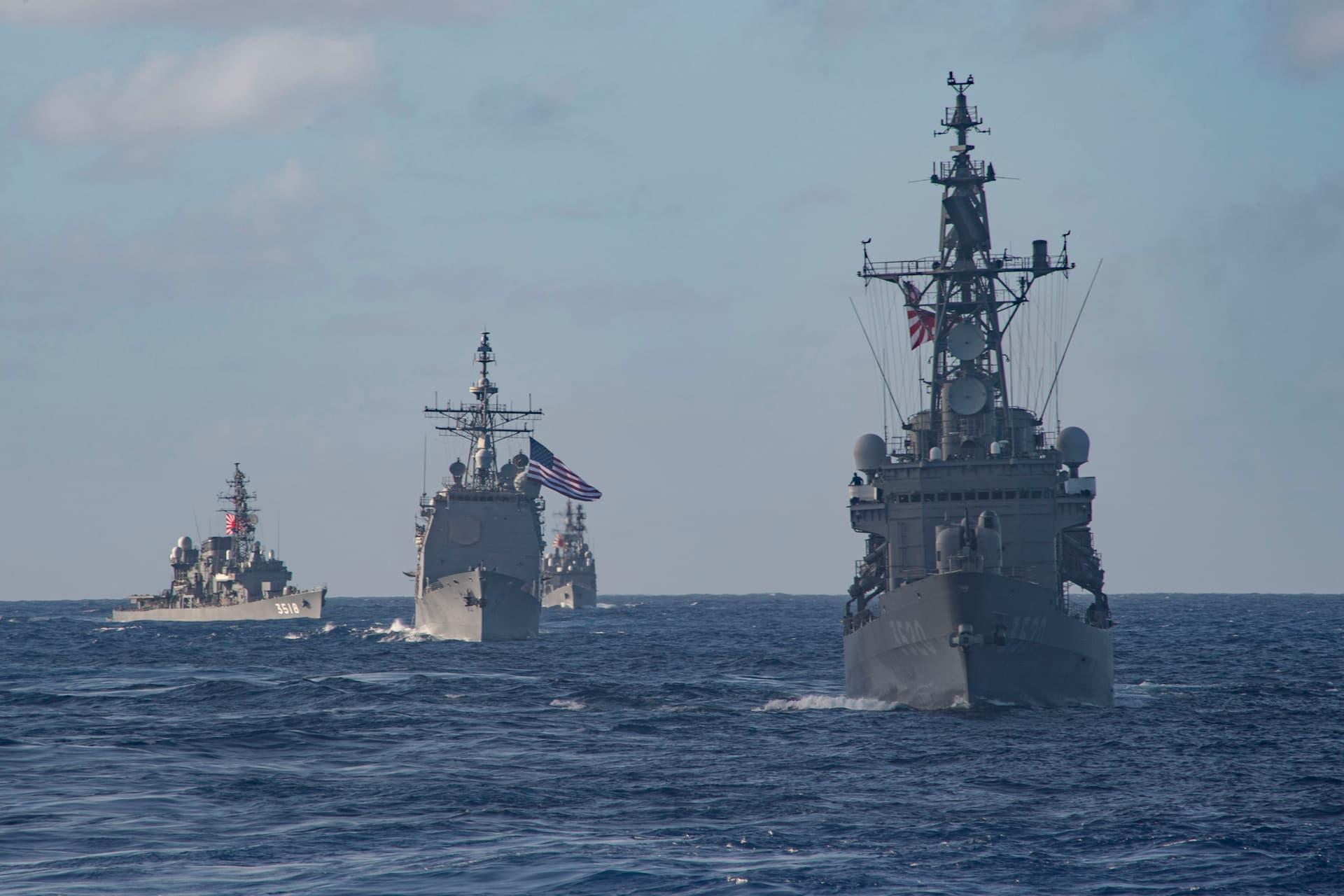 Theodore Roosevelt CSG JMSDF 3 - Naval Post