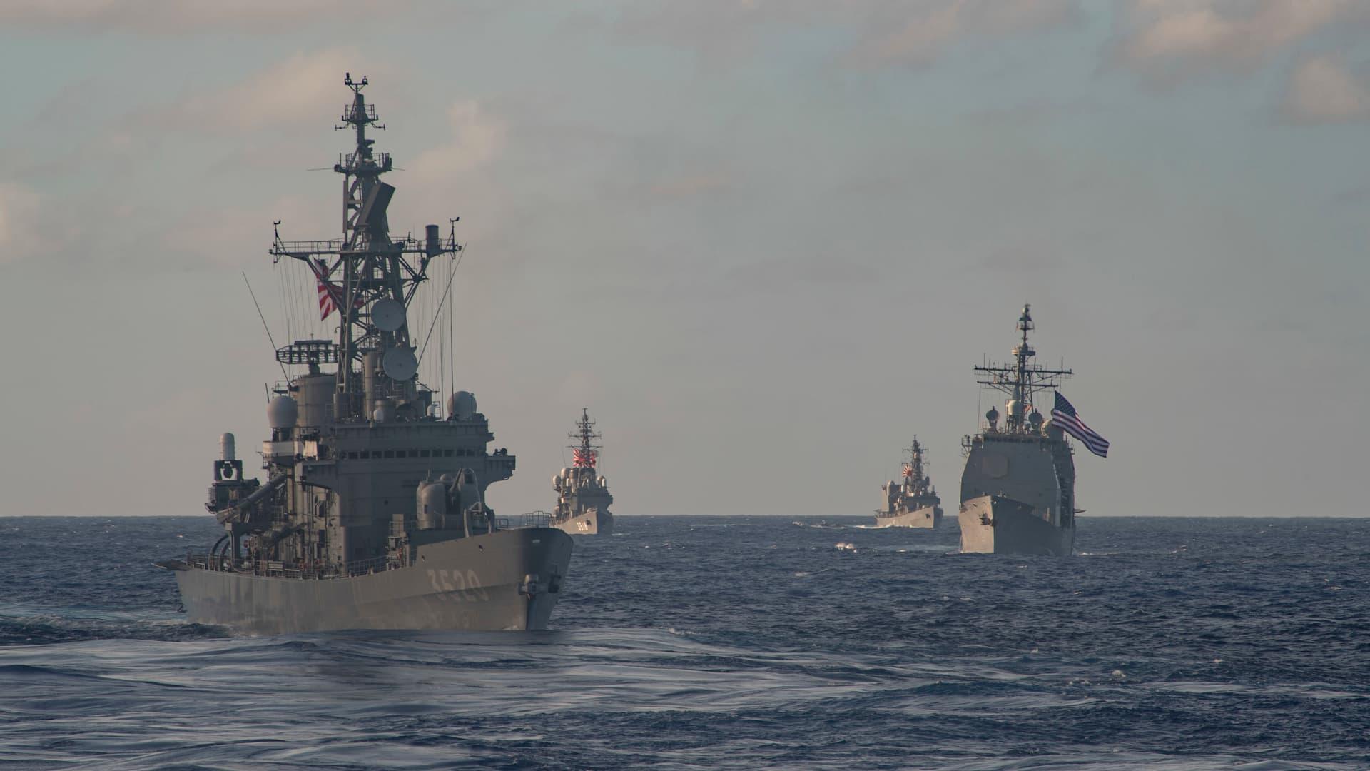 Theodore Roosevelt CSG JMSDF 4 - Naval Post
