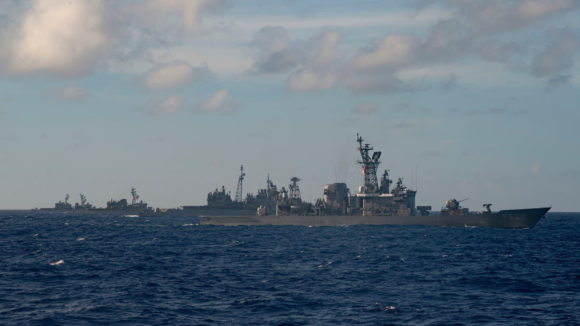 Theodore Roosevelt CSG JMSDF 5 - Naval Post