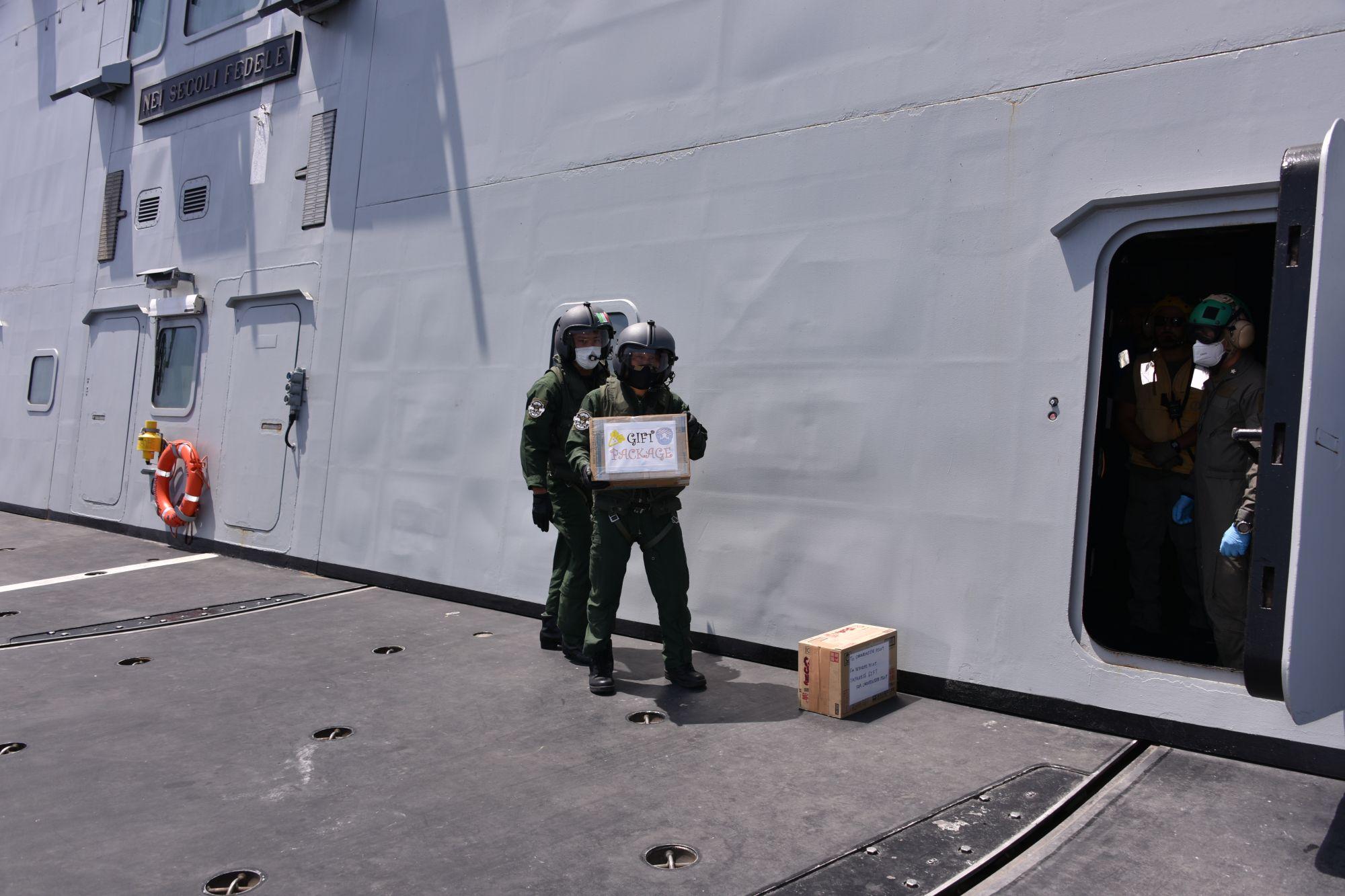 eu japan djibouti - naval post- naval news and information