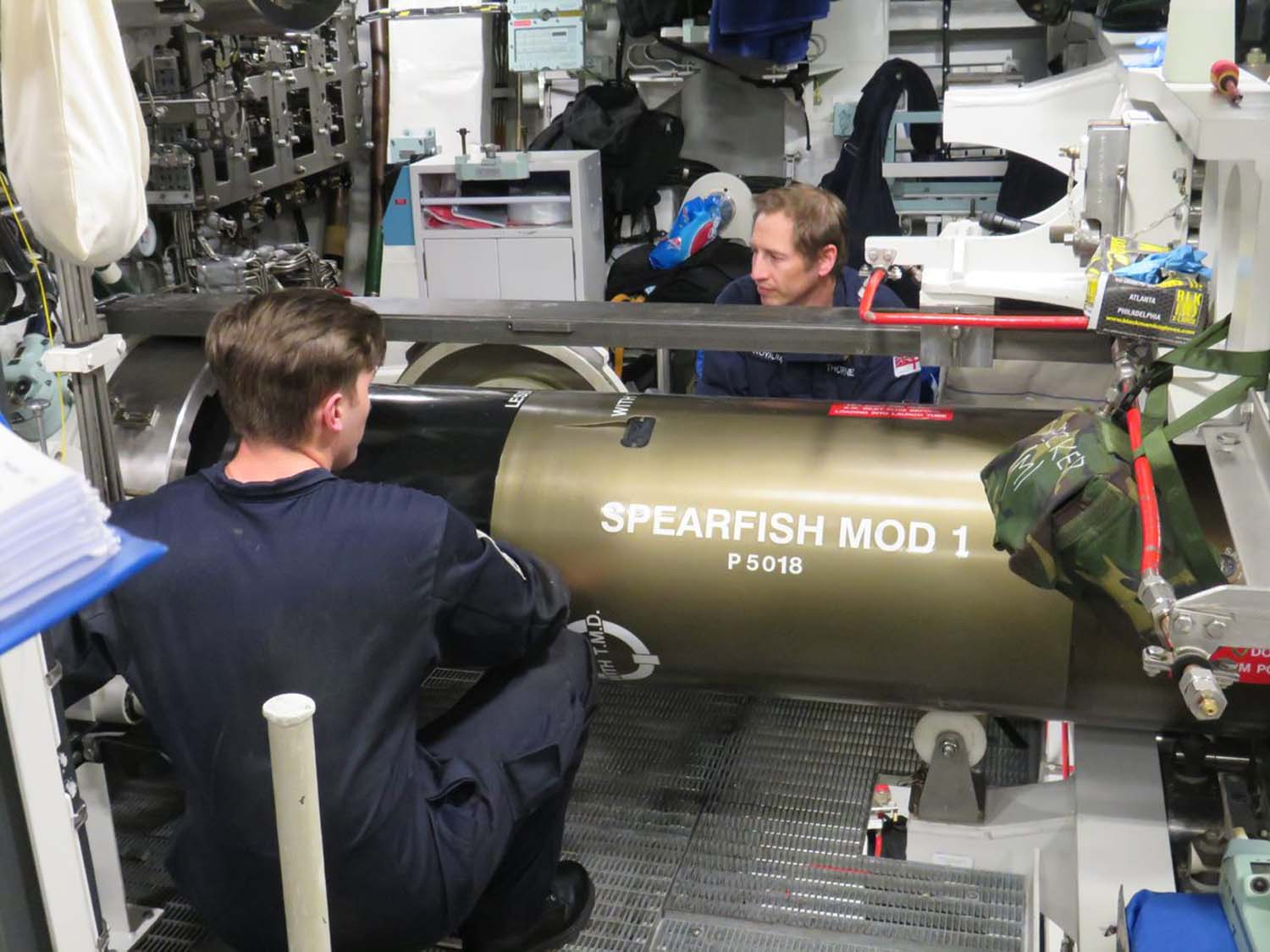 spearfish torpedo 4 - naval post- naval news and information