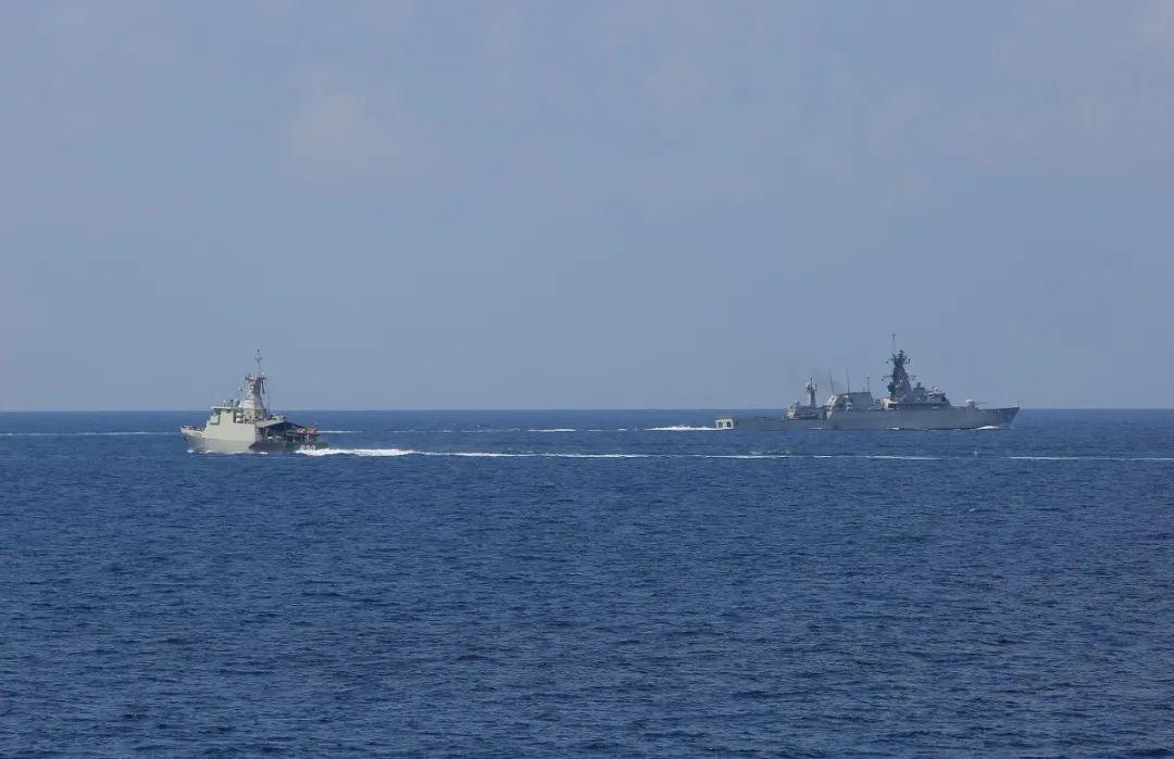 china indonesia passex 4 - naval post