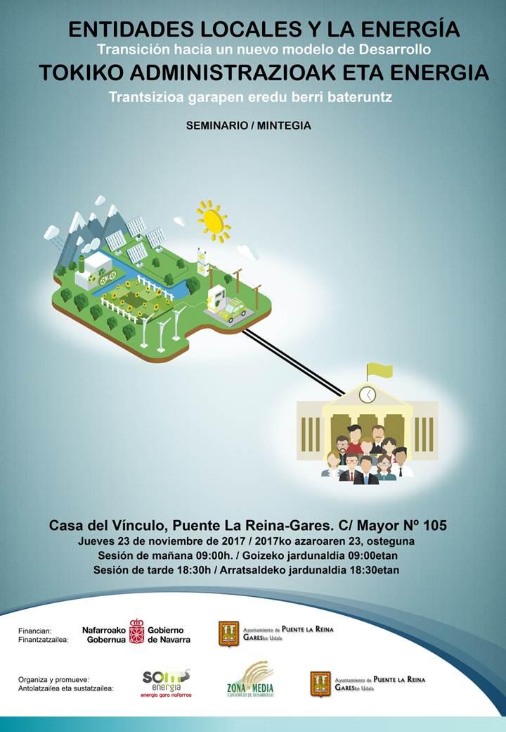 Jornada Entidades Locales y la Energía: transición hacia un nuevo modelo de desarrollo