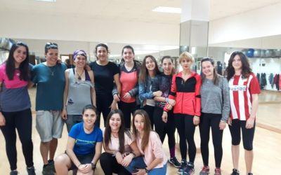 Éxito de participación en talleres de autodefensa feminista en Artajona y Larraga