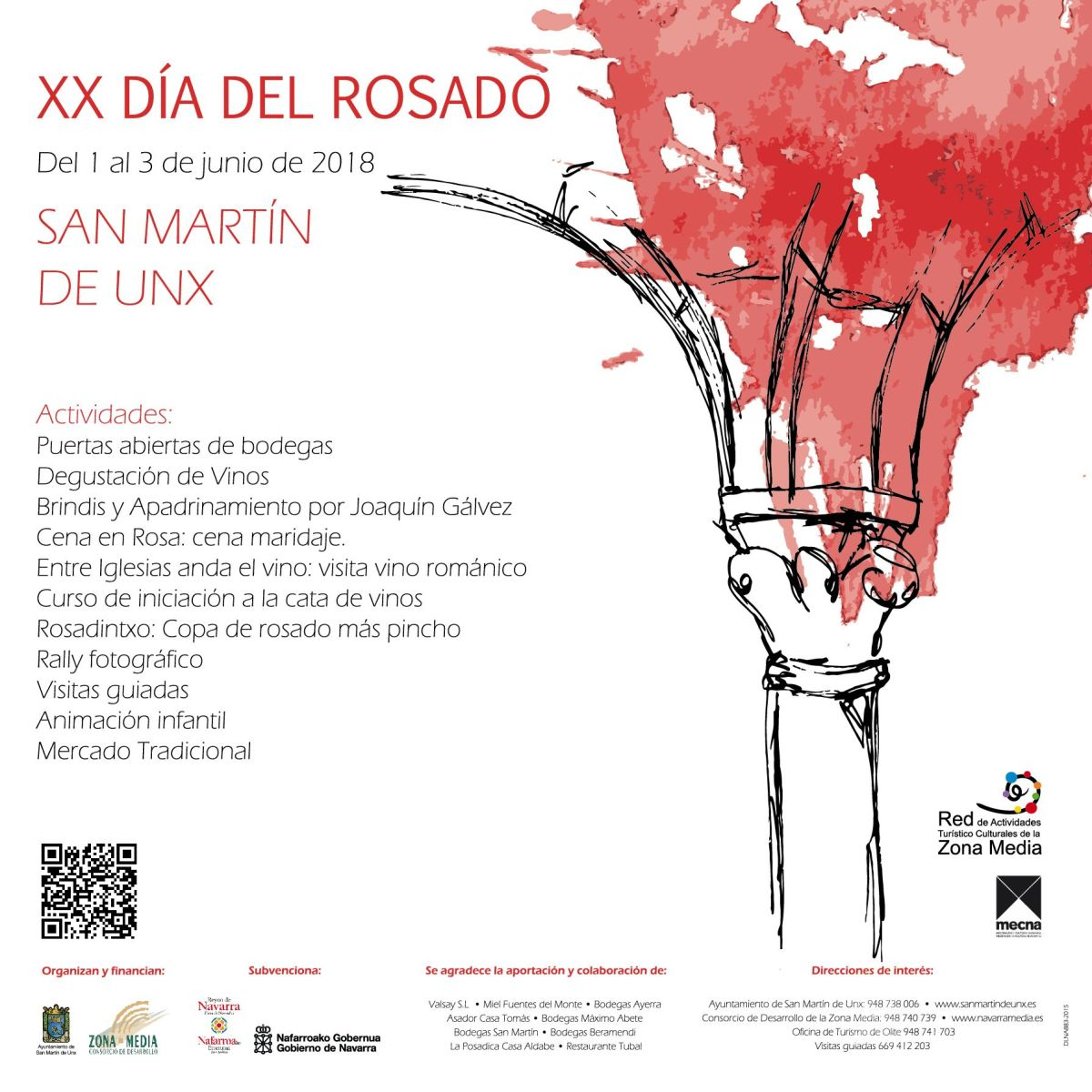 XX Día del Rosado de San Martín de Unx