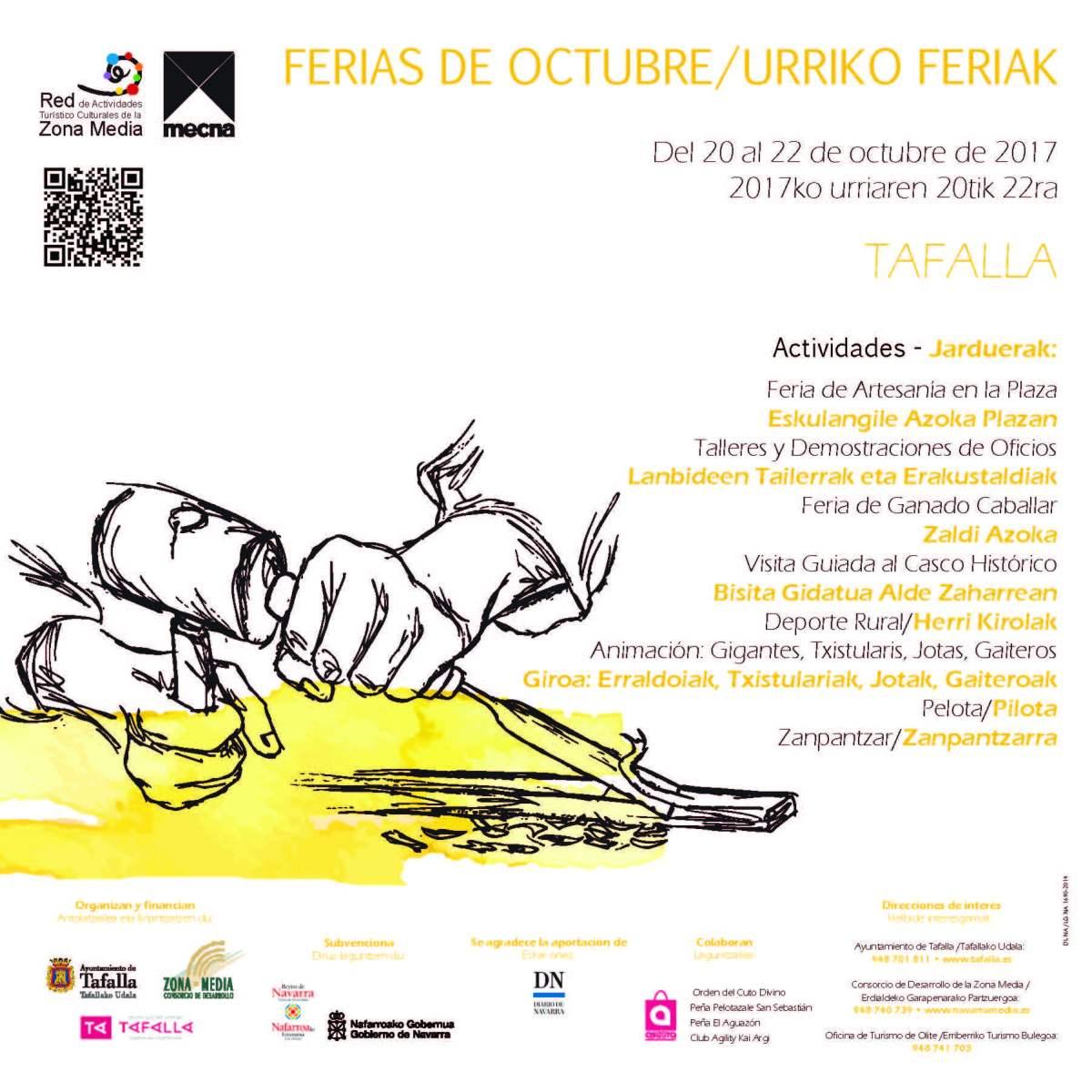 Ferias de Octubre de Tafalla/Tafallako Urriko Feriak