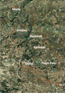 mapa estimado acepción incendio Zona Media