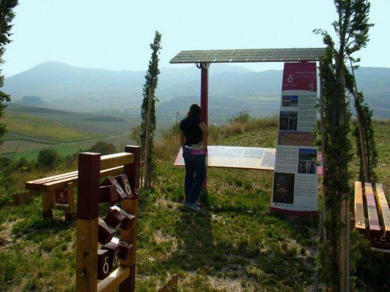 Senderos_panel_informativo_sendero_Ruta_del_Vino