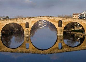 Puente románico s. XI, Puente la Reina- Gares, Navarra