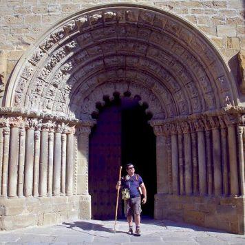 Pórtico Iglesia de Santiago, Puente la Reina - Gares